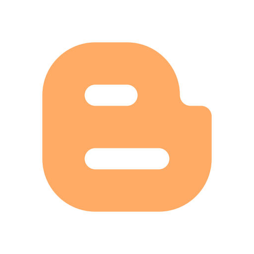 blogger, material icon