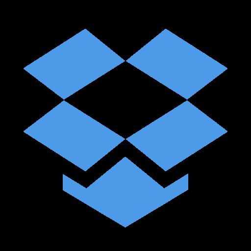 cloud, dropbox, storage icon