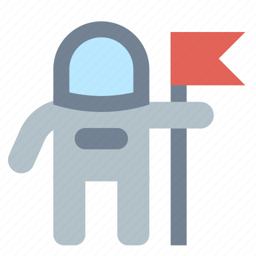 Cosmonaut, flag icon - Download on Iconfinder on Iconfinder