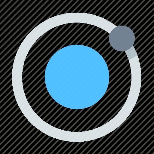 Orbit, satellite, equator icon - Download on Iconfinder