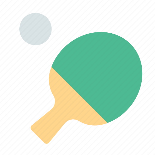 ping pong, racket, sport icon