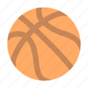ball, basketball icon
