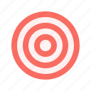 aim, darts, target icon