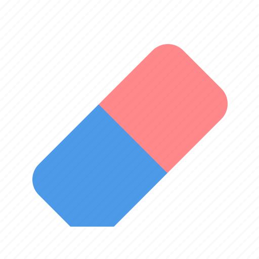 clean, eraser, rubber icon
