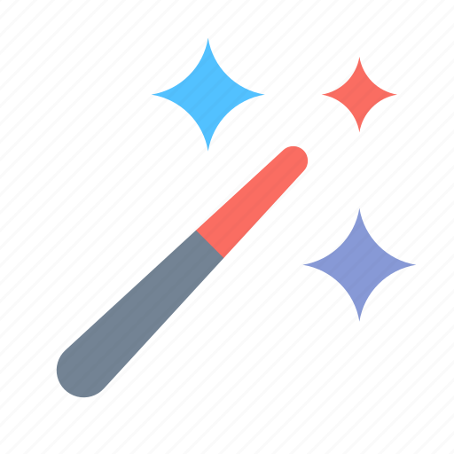 Magic, wand, wizard icon - Download on Iconfinder