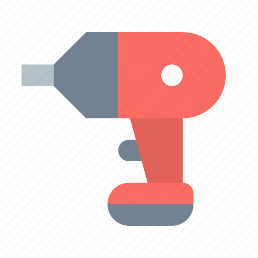 cordless, drill icon