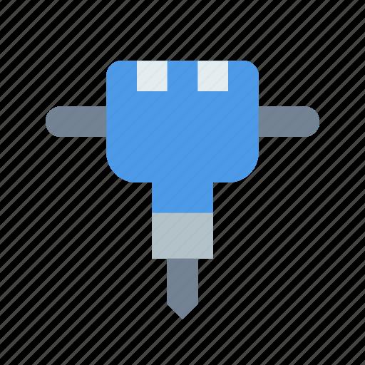 jackhammer, repair icon
