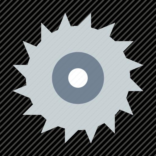 circular, disc, saw icon