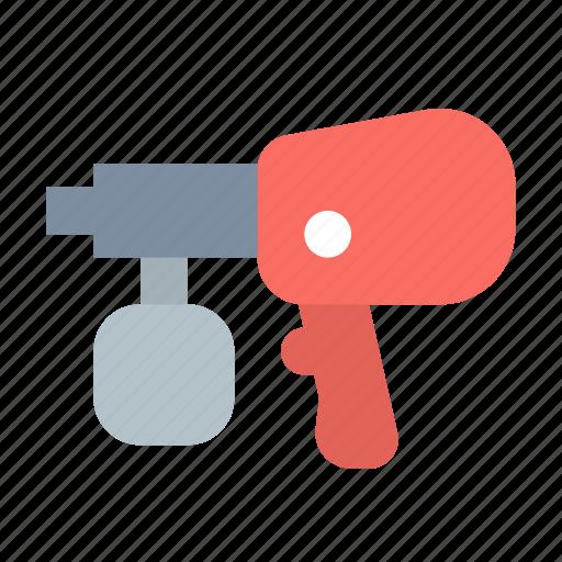airbrush, tool icon