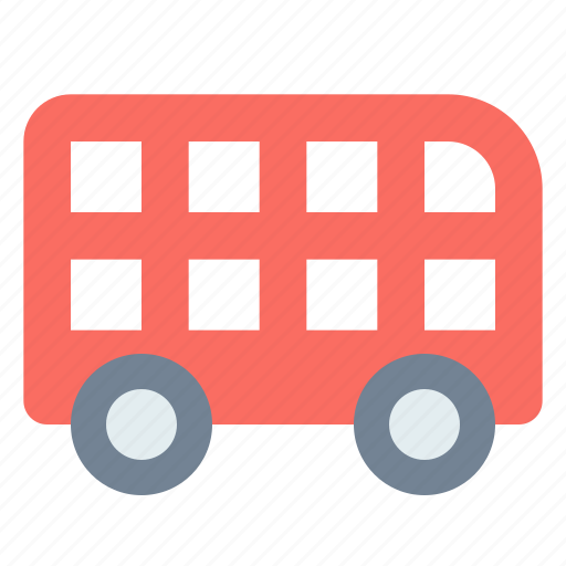 Decker, double, london, transport icon - Download on Iconfinder