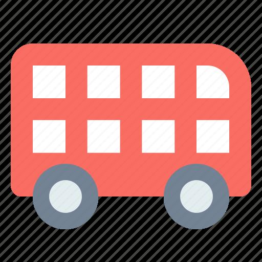 decker, double, london, transport icon