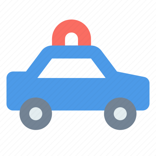 Car, emergency, flashing, police icon - Download on Iconfinder