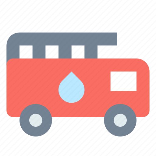 fire, transport, truck icon