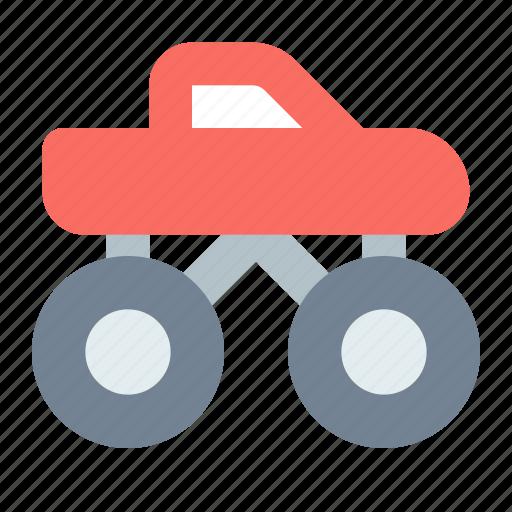 car, monster truck, wheels icon