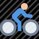 bicycle, sport, sportsman