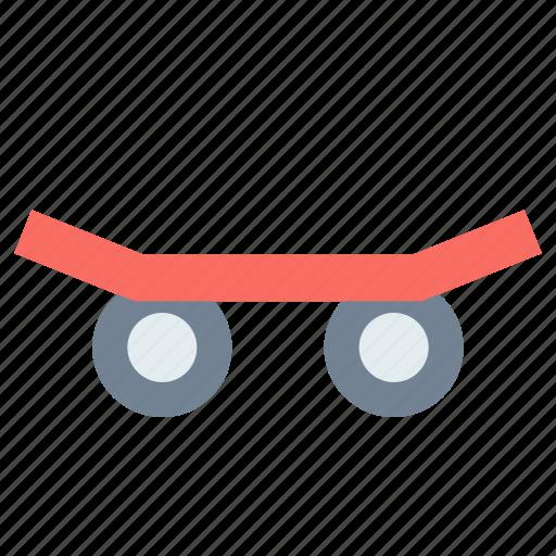skateboard, sport, transport icon