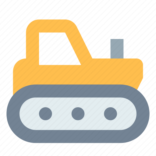 Caterpillar, construction, industrial, tractor icon - Download on Iconfinder