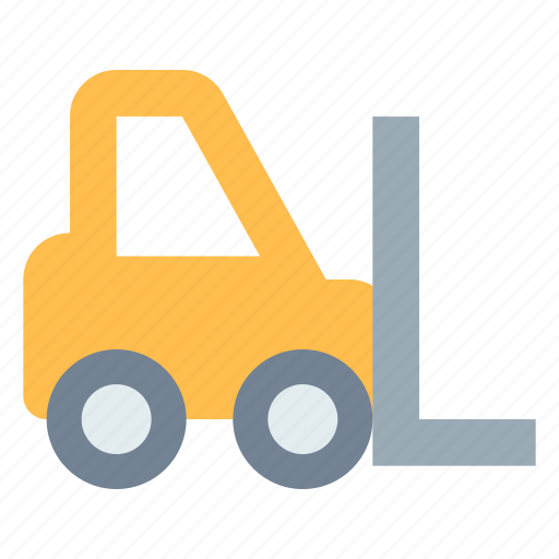 Construction, forklift, logistic icon - Download on Iconfinder