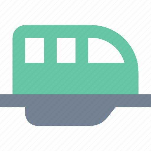 Monorail, train, transport icon - Download on Iconfinder