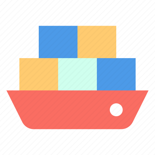 Cargo, ship, tanker icon - Download on Iconfinder