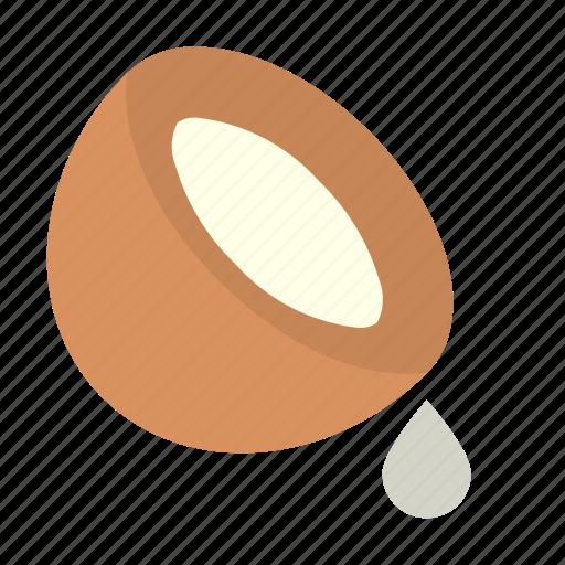 coconut, milk icon