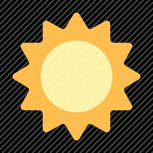 sun, sunny icon