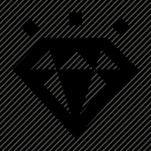 Diamond, jewel, present icon - Download on Iconfinder
