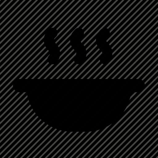bowl, dish, dishes, hot icon