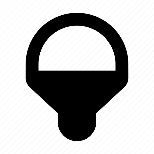 lamp, led icon