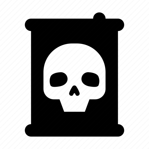 barrel, chemicals, poison icon