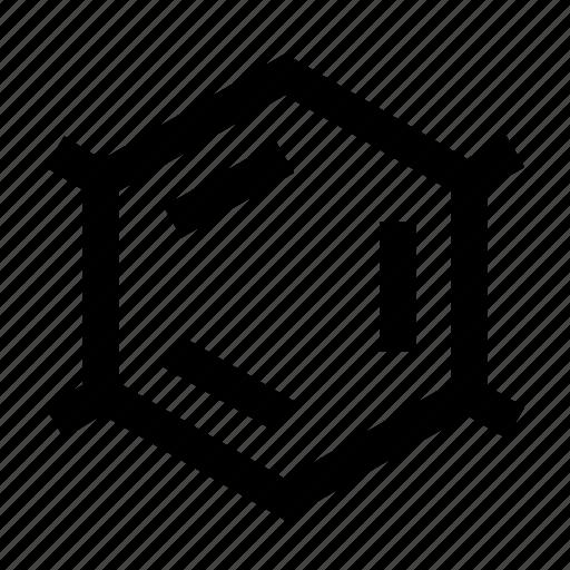 chemistry, formula, lattice icon