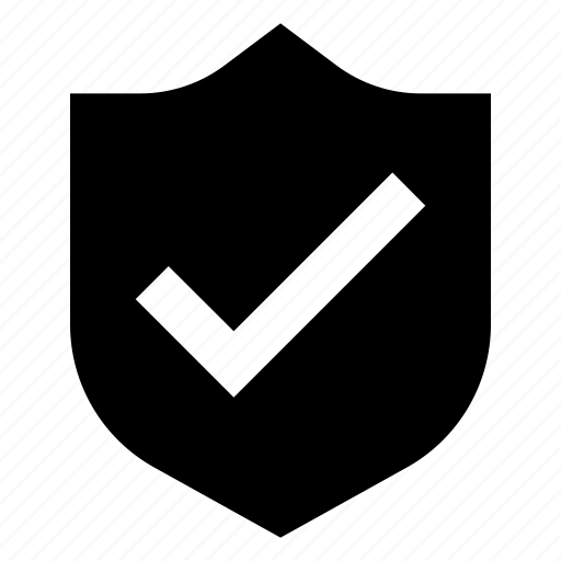 check, defense, firewall, guard, protection, security, shield icon