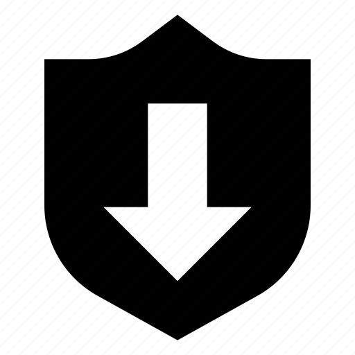 defense, download, guard, protection, security, shield icon