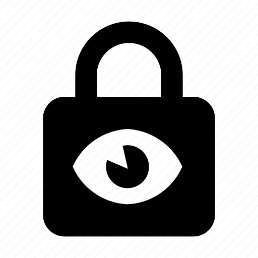 hacker, lock, padlock, password, private, protection, secure icon