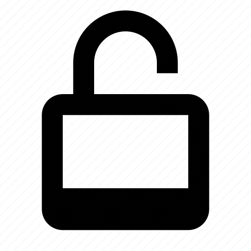 lock, security, unlock icon
