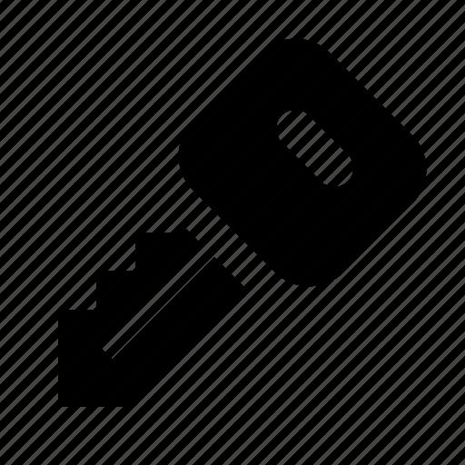 car, key, lock, transport icon