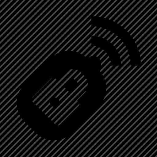 car, key, lock icon