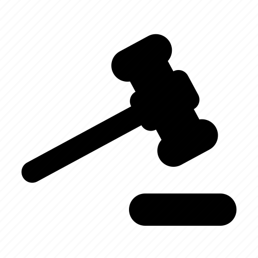 Court, gavel, judge icon - Download on Iconfinder