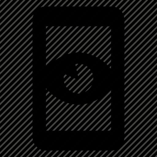 control, remote, smartphone, spy icon