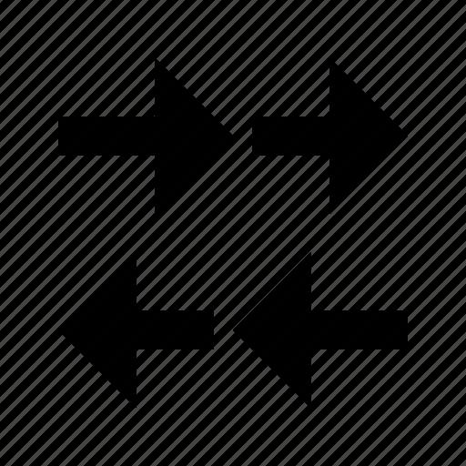 arrows, internet, traffic, trafic icon