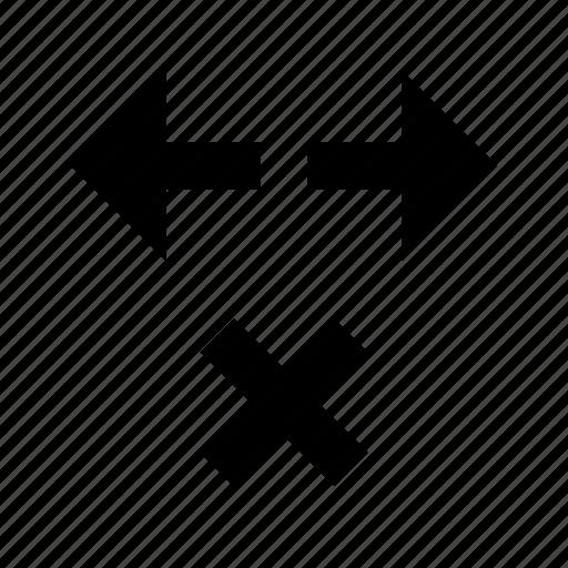 delete, network, traffic icon