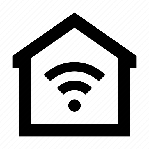 home, internet, wifi icon