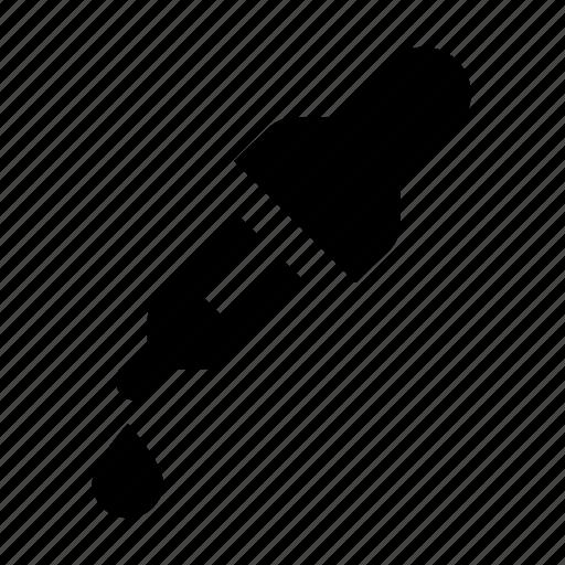 dropper, pipette icon