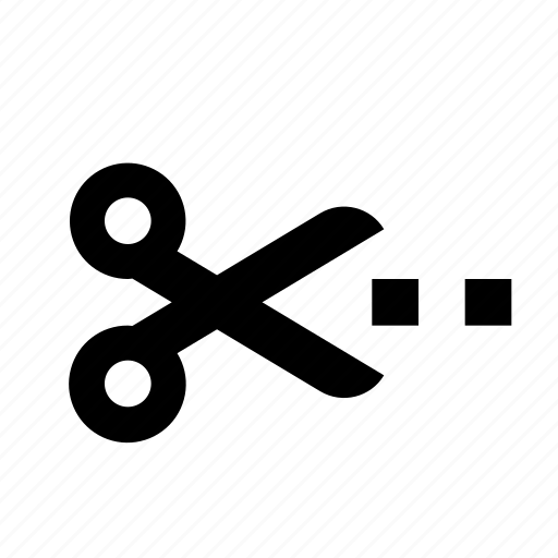 crop, scissors icon
