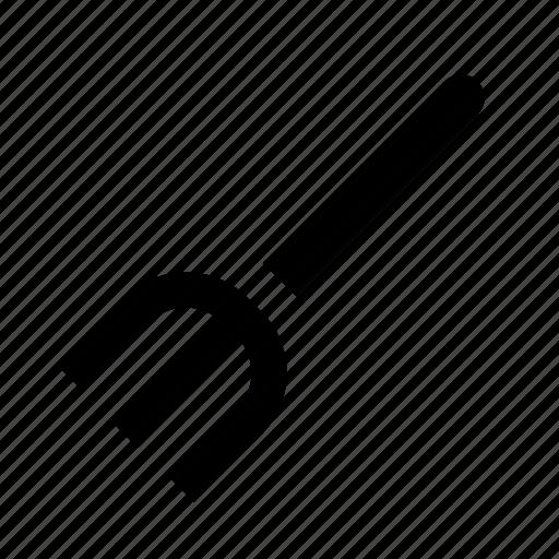 fork, garden, pitchfork icon