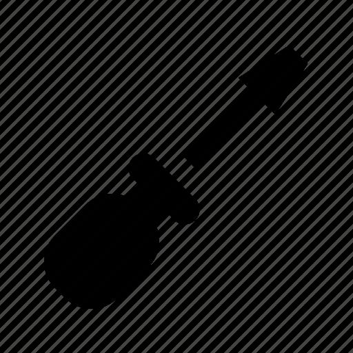 flatblade, helix, pin, screw, screwdriver, tool, turn icon