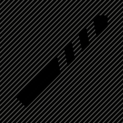 drill, metal, repair, tool icon