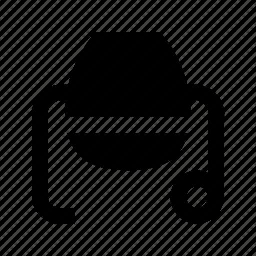 concrete, mixer, repair, tool icon