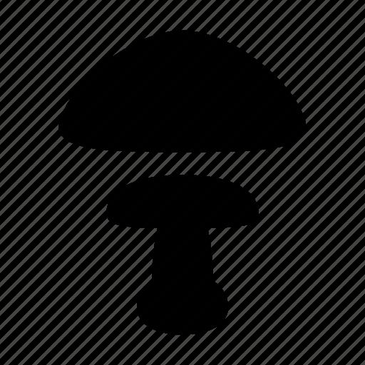 mushroom, poison, toadstool icon