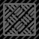 pattern, steel, material, brick, pallet, tile, metal icon